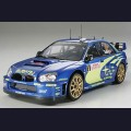 1:24  Tamiya  24281 Subaru Impreza WRC Ралли Монте-Карло 2005г