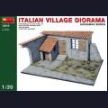 1:35 MiniArt 36008 Диорама - Итальянское деревенское здание