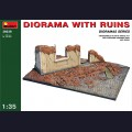 1:35 MiniArt 36039 Диорама - руины
