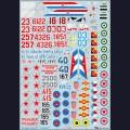 1:48  Begemot  48-002 Набор декалей для МиГ-21