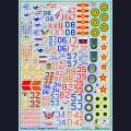 1:48  Begemot  48-005 Набор декалей для Су-27, часть 2