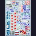 1:48  Begemot  48-008 Набор декалей для Су-27 демо-версии