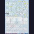 1:48  Begemot  48-020 Набор декалей для Су-24, технические надписи