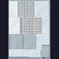 1:48  Begemot  48-027 Набор декалей - Опознавательные знаки ВВС России, часть 2