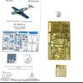 1:48 Микродизайн 048204 Набор фототравления для Bf-109F4