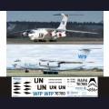 1:144 Ascensio I76-004 Набор декалей для Ил-76ТД WFP (АбаканАвиа) / UN