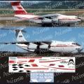1:144 Ascensio I76-006 Набор декалей для Ил-76ТД авиакомпания Аэрофлот