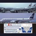 1:144 Ascensio T20-001 Набор декалей для Ту-204 авиакомпания Аэрофлот (1980-90-е годы)