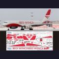 1:144 Ascensio T20-002 Набор декалей для Ту-204-100В авиакомпания Red Wings Airlines