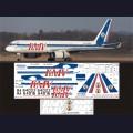 1:144 Ascensio T20-005 Набор декалей для Ту-204-100С авиакомпания KMV (Кавминводыавиа)