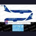 1:144 Ascensio T20-006 Набор декалей для Ту-204-100С авиакомпания Почта России