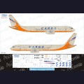 1:144 Ascensio T20-008 Набор декалей для Ту-204-100С авиакомпания Трансаэро Cargo