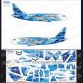 1:144 Ascensio 319-010 Набор декалей для Airbus A319 авиакомпания Россия