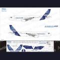 1:144 Ascensio 320-001 Набор декалей для Airbus A320-200 заводская ливрея