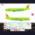 1:144 Ascensio 320-002 Набор декалей для Airbus A320-200 авиакомпания S7 Airlines