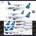 1:144 Ascensio 320-008 Набор декалей для Airbus A320-200 авиакомпания Thomas Cook Airlines