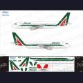 1:144 Ascensio 320-012 Набор декалей для Airbus A320 авиакомпания Alitalia (2012г)
