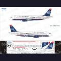 1:144 Ascensio 320-021 Набор декалей для Airbus A320 авиакомпания US Airways