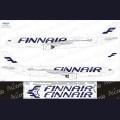 1:144 Ascensio 333-005 Набор декалей для Airbus A330-300 авиакомпания Finnair