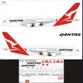 1:144 Ascensio 380-001 Набор декалей для Airbus A380 авиакомпания Qantas Airlines
