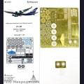 1:144 Микродизайн 144211 Набор фототравления для Ил-86