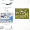 1:144 Микродизайн 144203 Набор фототравления для Ту-154М