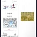 1:144 Микродизайн 144214 Набор фототравления для Ту-204-100