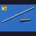 1:35  Aber  35 L-010 Точеный металлический ствол 3.7cm Flak.43/1 L/60
