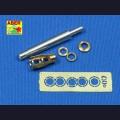 1:35  Aber  35 L-018 Точеный металлический ствол 10.5cm le.FH.18 L/28 для StuH.42 Ausf.G поздней версии