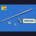 1:35  Aber  35 L-021 Точеный металлический ствол 5cm Kw.K.39/1 L/60 для Sd.Kfz.234/2 Puma