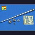 1:35  Aber  35 L-025 Точеный металлический ствол 7.5cm для Pak.40 поздней версии