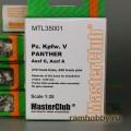 1:35  MasterClub  MTL35001 Наборные металлические траки для Sd.Kfz.171 Panther Ausf.A / G