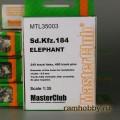 1:35  MasterClub  MTL35003 Наборные металлические траки для Sd.Kfz.184 Elefant