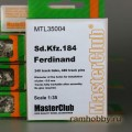 1:35  MasterClub  MTL35004 Наборные металлические траки для Sd.Kfz.184 Ferdinand
