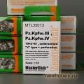 1:35  MasterClub  MTL35013 Наборные металлические траки для Pz.Kpfw.III / IV, применялись в 1943-1945г, ширина 400мм
