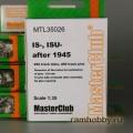 1:35  MasterClub  MTL35026 Наборные металлические траки для ИС-2 / ИС-3 / ИСУ-122 / ИСУ-152, послевоенный вариант