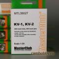1:35  MasterClub  MTL35027 Наборные металлические траки для КВ-1 / КВ-2
