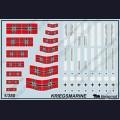1:350  Begemot  350-004 Набор декалей для военно-морского флота Германии