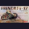 1:35  Meng Model  TS-011 French FT-17 Light Tank  (Riveted Turret)