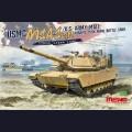1:35  Meng Model  TS-032 USMC M1A1 AIM/U.S. Army M1A1 Abrams Tusk Main Battle Tank