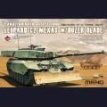 1:35  Meng Model  TS-041 Leopard C2 Mexas w/ Dozer Blade Canadian Main Battle Tank