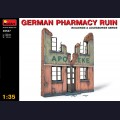 1:35   MiniArt   35537   GERMAN PHARMACY RUIN