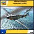 1:48 Звезда 4806 Немецкий истребитель Messerschmitt Bf.109F-4