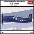 1:48 Academy 12313 Американский палубный истребитель F8F-1/2 Bearcat