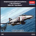1:48 Academy 12315 Американский палубный истребитель F-4B/N Phantom II VMFA-531