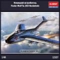 1:48 Academy 12327 Немецкий истребитель Focke-Wulf Ta.183 Huckebein