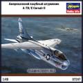 1:48 Hasegawa 07247 Американский палубный штурмовик A-7D/E Corsair II