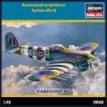 1:48 Hasegawa 09060 Британский истребитель Typhoon Mk.Ib