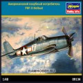 1:48 Hasegawa 09134 Американский палубный истребитель F6F-3 Hellcat