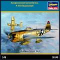 1:48 Hasegawa 09140 Американский истребитель P-47D Thunderbolt